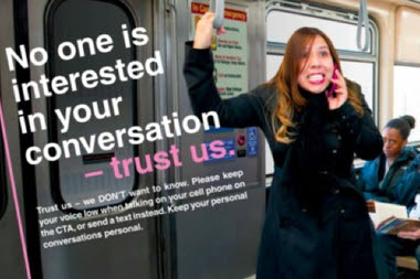 CTA Publicly Shames Annoying Commuters ... And Wins Top Ad Award