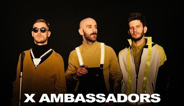 X Ambassadors anuncia show pela primeira vez no Brasil em maio
