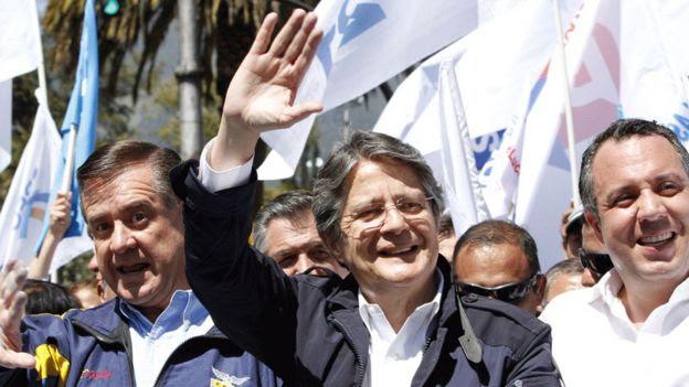 El expresidente ejecutivo del Banco de Guayaquil quedó segundo contra Correa en 2013.