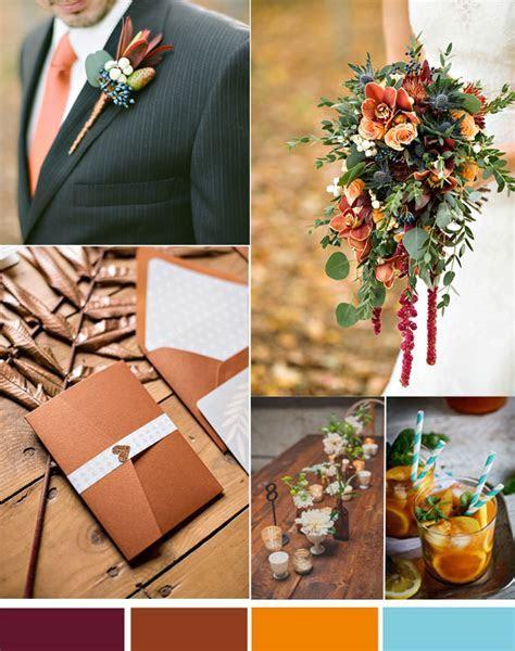 Vintage Fall Weddings?Top 3 Hot Wedding Color Inspiration