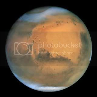 El tiempo en Marte