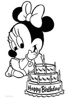 Minnie Mouse para colorear 🥇 ¡DIBUJOS para imprimir y pintar!