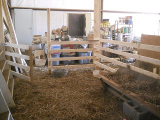 Barn Animal Stall from Inside