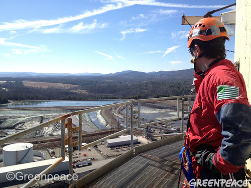 North Carolina Coal Ash Ponds by Greenpeace USA 2012