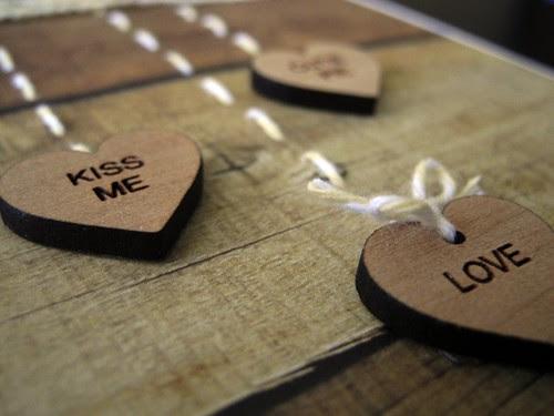 Wooden Valentine (detail 1)