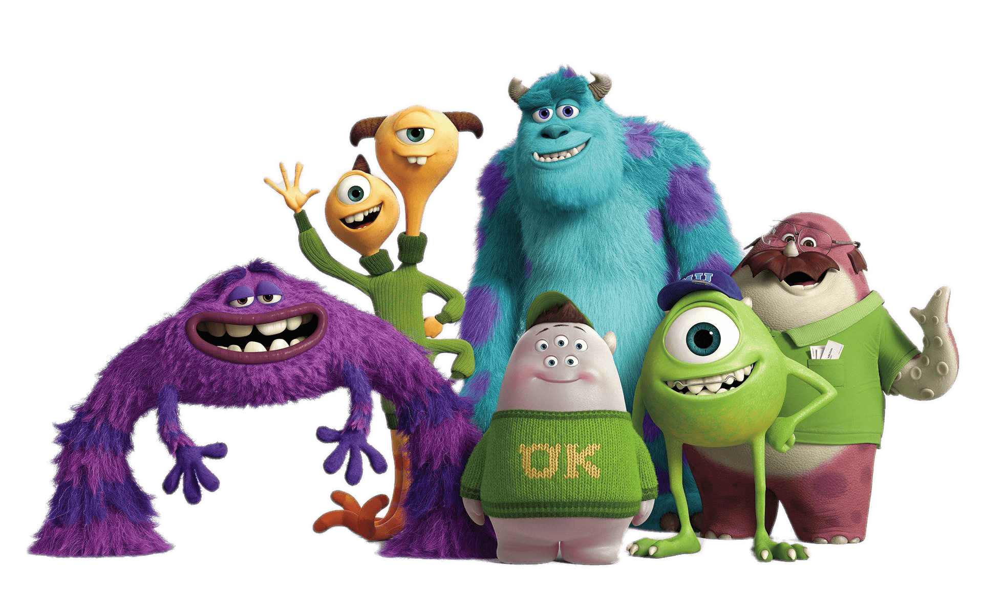 Monsters University Transparent Png Images Page2 Stickpng
