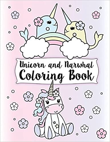 Narwhal Coloring Page | Coloringnori - Coloring Pages for Kids