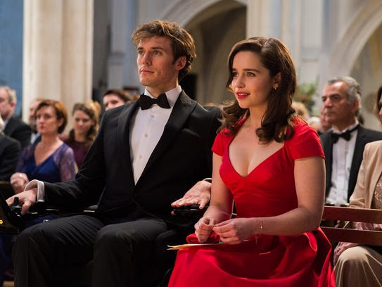 Sam Claflin and Emilia Clarke in 'Me Before You.'