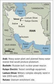 Iran's nuclear program.