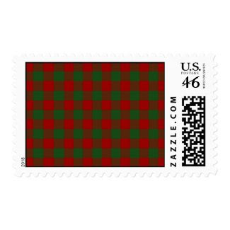 Red and Green Gingham Pattern – Medium