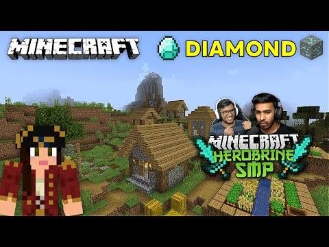 AJJUBHAI NEW DIAMOND KING IN HEROBRINE SMP🤣 | MINECRAFT GAMEPLAY #18