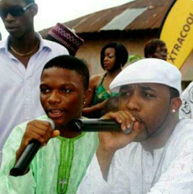 Throwback Of Life!! See Wizkid And Banky W At Ebute Metta Back Then (See Photo)