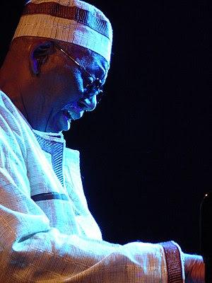 Jazz pianist Randy Weston
