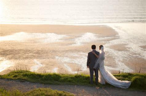 Real wedding at Watergate Bay
