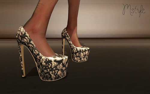 ANI Pumps - LACE by Mikee Mokeev