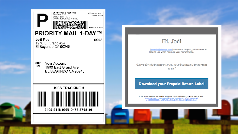 33 how to create a return shipping label usps  labels