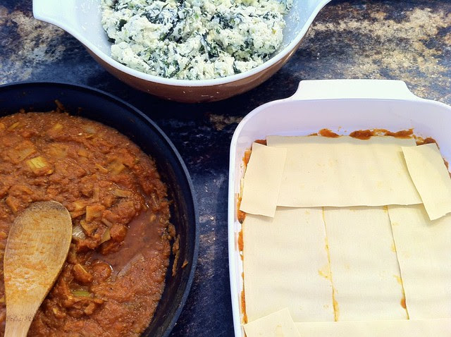 Building Lasagna Layers
