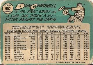 #502 Don Cardwell (back)