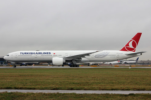 TC-JJH Boeing 777-3F2ER Turkish Airlines