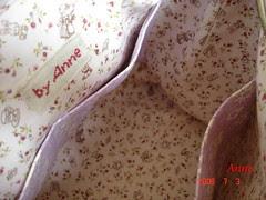 手作棉麻昆蟲包-3