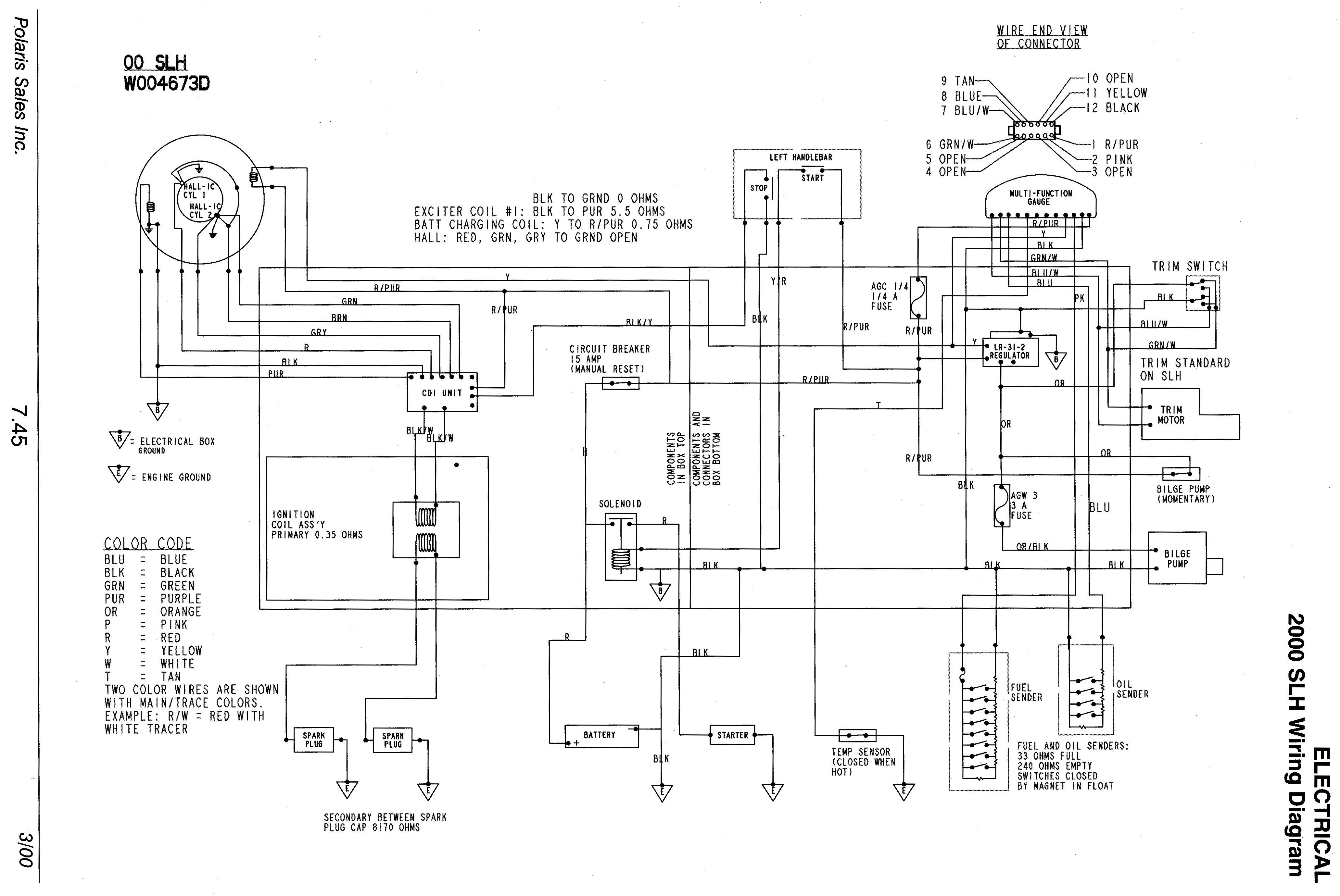 Looking For Wiring Diagram For A 99 Slh Please Help