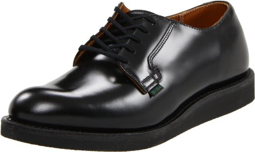 Red Wing Heritage Men's Postman Oxford,Black Chaparral,12 D US