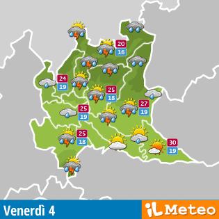Meteo Lombardia