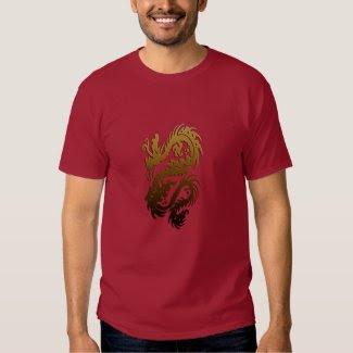 Dragon 23 gold tshirts