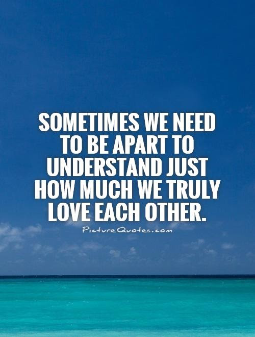 Love Quotes Understanding Each Other