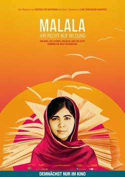 Malala - Ihr Recht auf Bildung Filmplakat