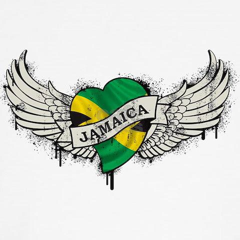 Flag Tattoos on Jamaica Tattoo Tee Designer One World T Shirt Shirts Product Id