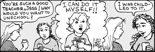 Home Spun comic strip #761