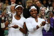 Venus and Serena Doubles Champions