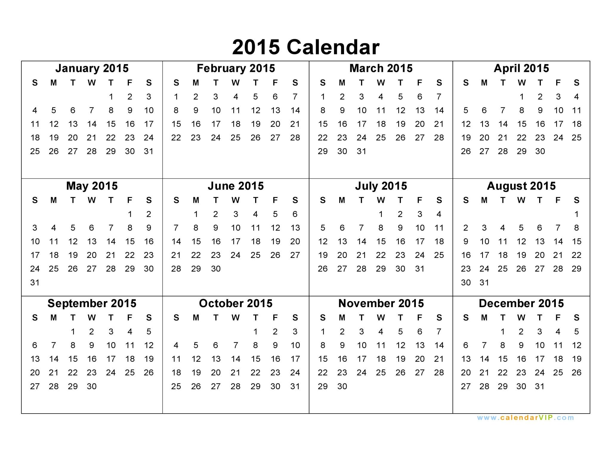 CALENDAR 2015 - Tasarman Web