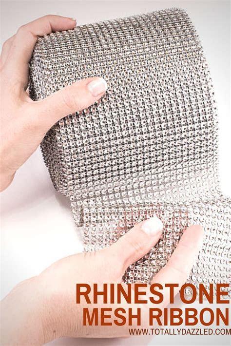 Bling Wrap, Rhinestone Mesh Ribbon   THE PERFECT PALETTE