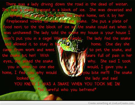 Snakes Fakes Quotes