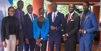 Egerton University student David Omondi wins Students Leadership Award