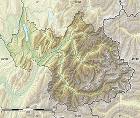 (Voir situation sur carte: Savoie)