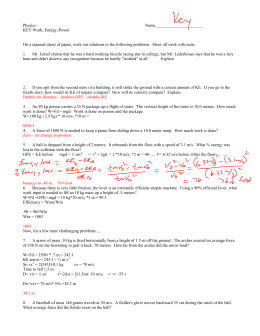 34 Physics Conservation Of Energy Worksheet Answers ...