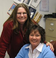 Me with my sister, Jan Downey