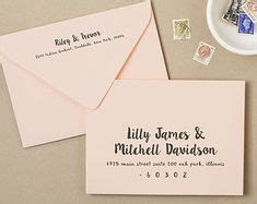 fonts to address save the date envelopes   Home Wedding
