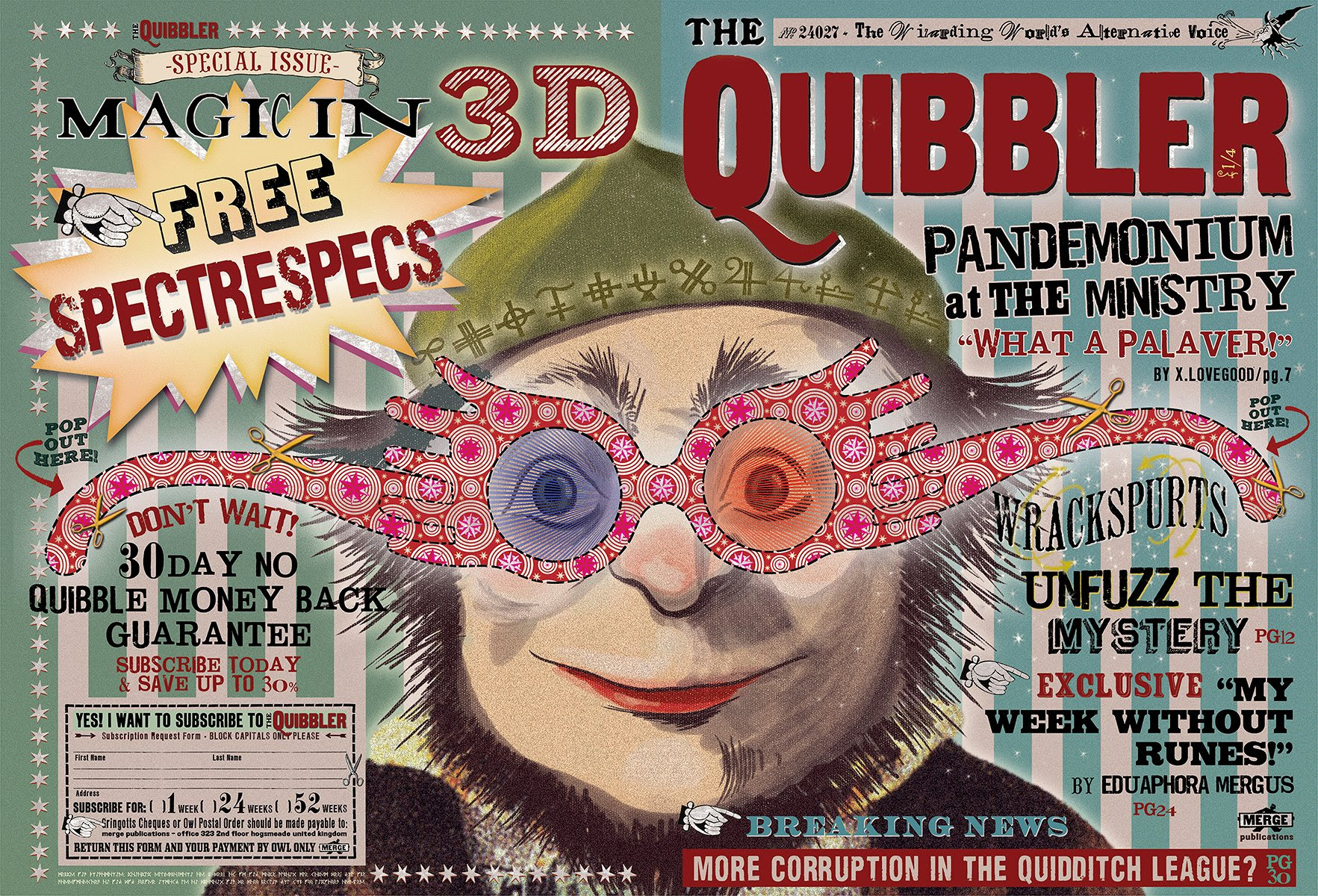 Image result for the quibbler