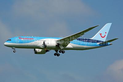Thomson Airways Boeing 787-8 Dreamliner G-TUIA (msn 34422) MAN (Nik French). Image: 912411.