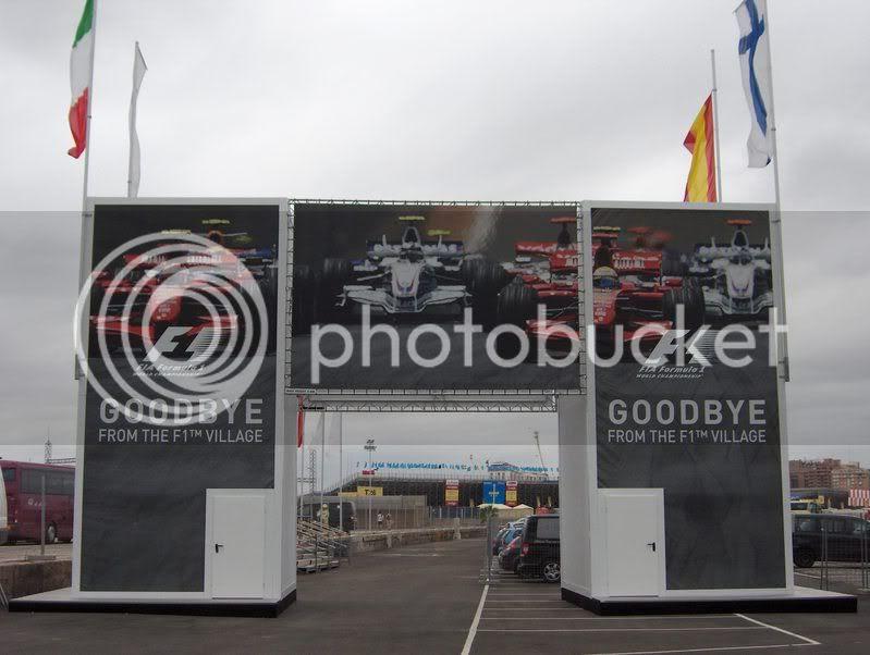 F1 Village GP de Europa de F1 2008