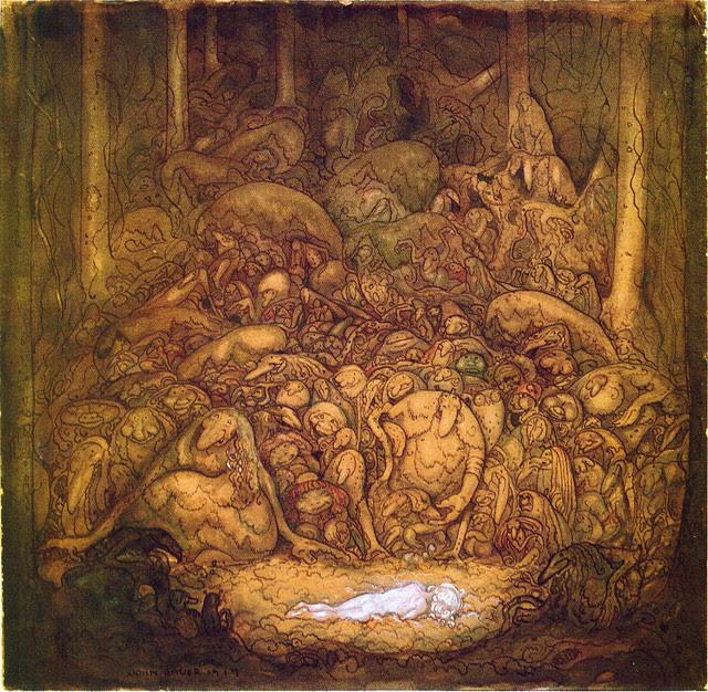 John Bauer - Root Trolls, 1917.jpg