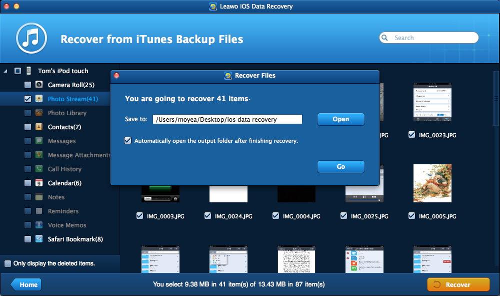 Leawo iOS Data Recovery for Mac \u2013 Professional Mac iPod\/iPad\/iPhone Data Recovery Software