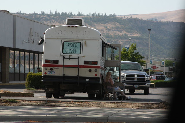 As seen in The Dalles