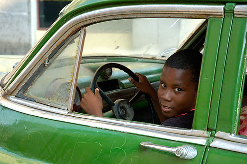 Young driver
