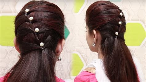 quick hairstyles  long hair tutorial simple