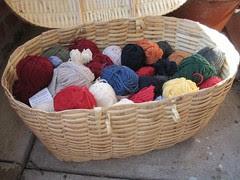 dk yarn for hourglass
